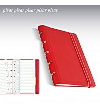 Filofax Notebooks Pocket červený