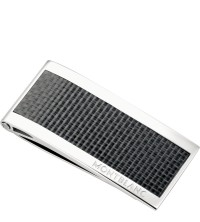 Montblanc Money Clip Stainless steel Carbon Inlay