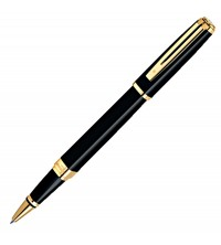Waterman Exception Slim Black Lacquer  GT Roler
