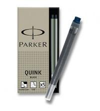 Parker Inkoustové bombičky dlouhé Modročerné