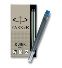 Parker Inkoustové bombičky dlouhé permanentní Modré