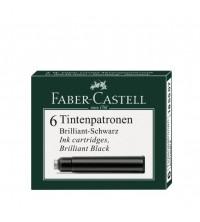 Faber Castell  Inkoustové bombičky krátké Black