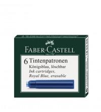 Faber Castell  Inkoustové bombičky krátké Blue