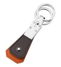 Montblanc Sartorial  Přívěšek na klíče hnědooranžový