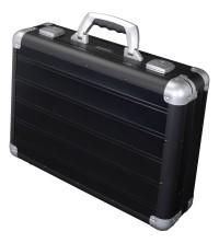 Manažerský kufr černý hliníkový