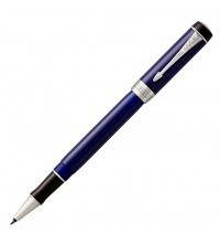 Parker Duofold Blue & Black CT Roler