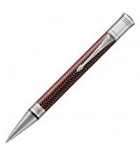Parker Duofold Prestige Burgundy Chevron Kuličková tužka