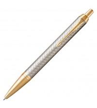 Parker IM Premium Warm Silver GT Kuličková tužka