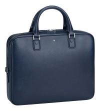Montblanc Sartorial business taška slim blue