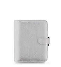 Filofax Saffiano Pocket Metallic