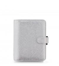 Filofax Saffiano Pocket Metallic
