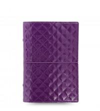 Filofax Domino  Luxe Purple A6 diář