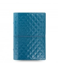 Filofax Domino  Luxe  Teal A6 diář
