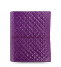 Filofax Domino Luxe Purple  A 5 diář