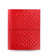 Filofax Domino Luxe Red  A 5 diář
