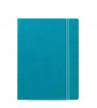 Filofax Notebook A5 akvamarínový