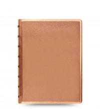 Filofax Notebook A5 Rose Gold