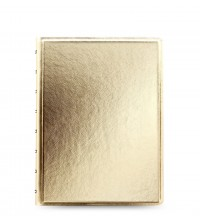 Filofax Notebook A5 Gold
