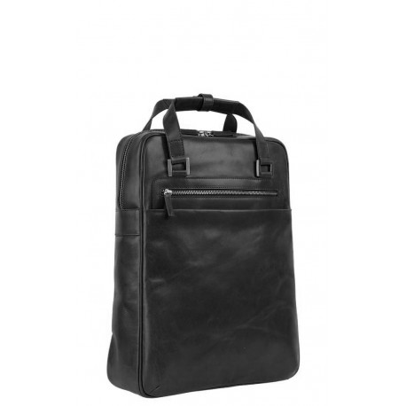 Leonhard Heyden Chicago city bag  černý