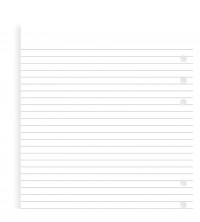 Filofax Náplň A5 linkovaný papír