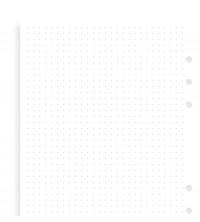 Filofax Náplň A5 tečkovaný papír