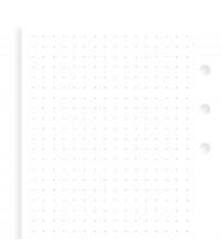 Filofax Náplň Osobní tečkovaný papír