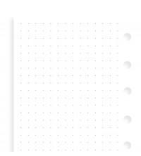 Filofax Náplň Pocket tečkovaný papír