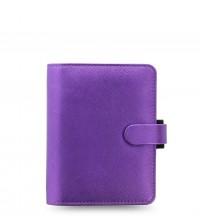 Filofax Saffiano Metallic Pocket  Violet