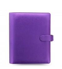 Filofax Saffiano Metallic A5 Violet diář
